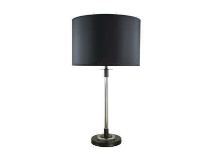 Настольная лампа (delight collection) черный 26x80x26 см.