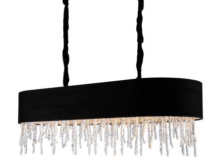 Люстра (delight collection) черный 110x35x45 см.