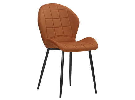 Стул presley (berg) оранжевый 60x60x60 см.