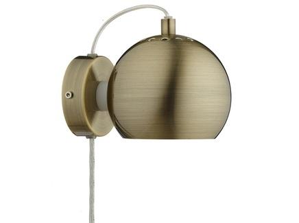 Лампа настенная ball (frandsen) бронзовый