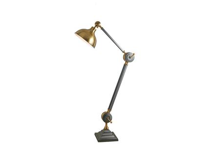Торшер (delight collection) бронзовый 35x220x35 см.