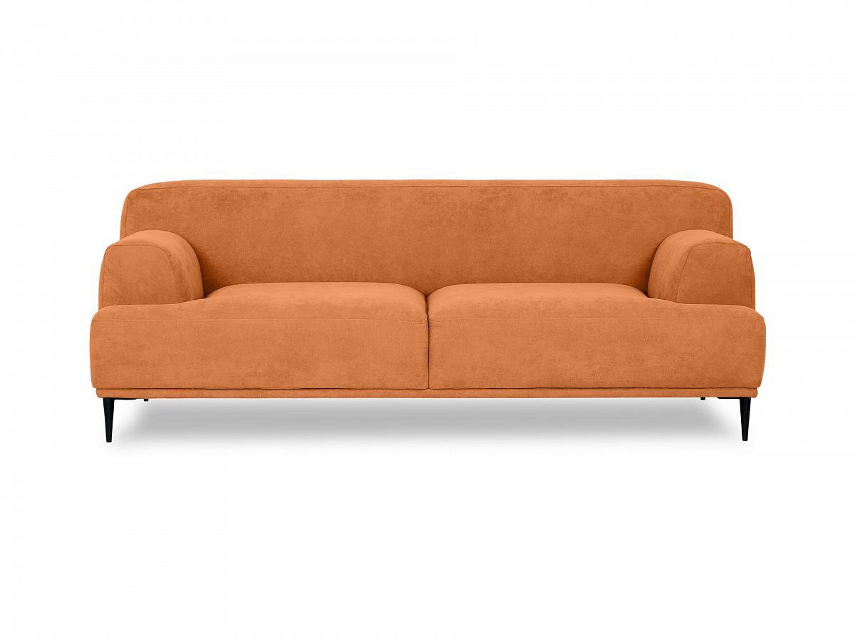 Ogogo диван двухместный portofino оранжевый 115597/3