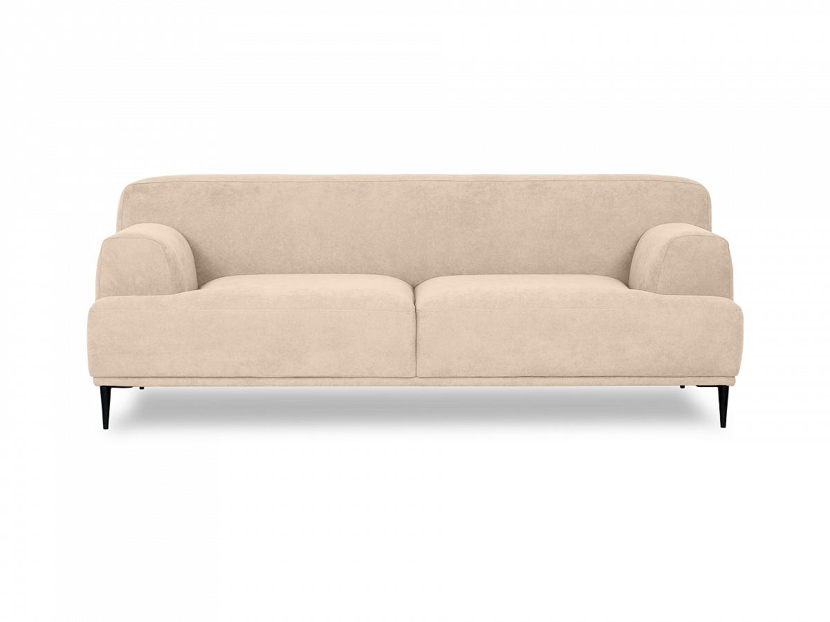 Ogogo диван двухместный portofino бежевый 115598/5