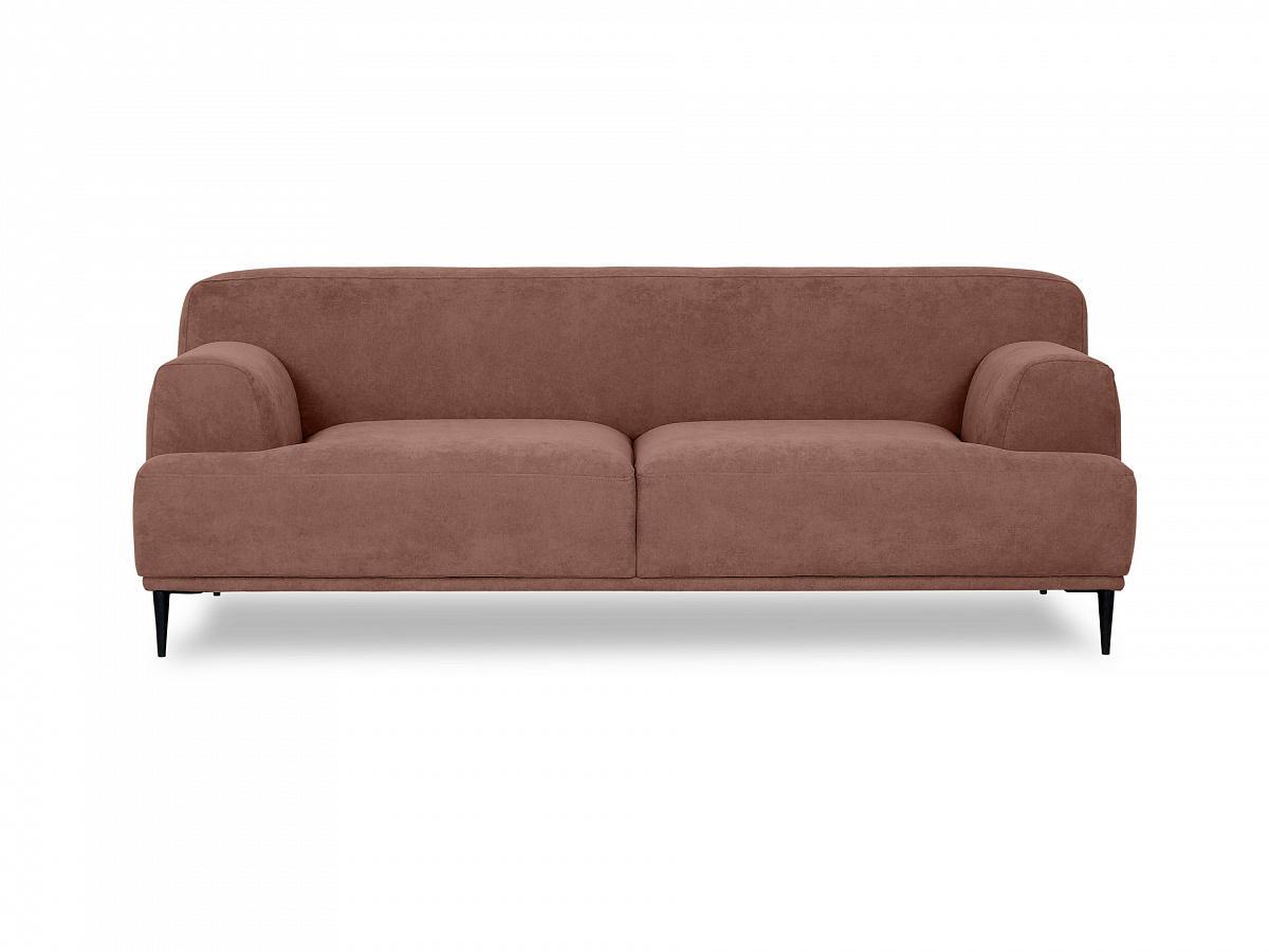 Ogogo диван двухместный portofino коричневый 115601/5