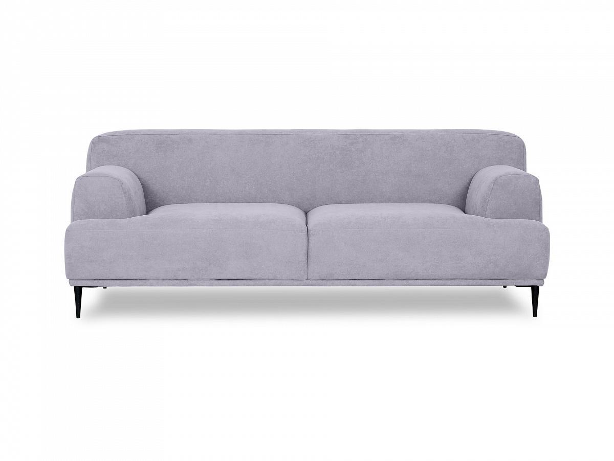 Ogogo диван двухместный portofino серый 115604/1