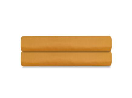 Простыня на резинке wild (tkano) оранжевый 180x200x30 см.