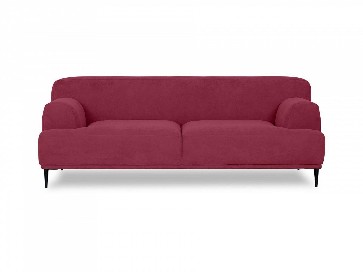 Ogogo диван двухместный portofino красный 115607/3