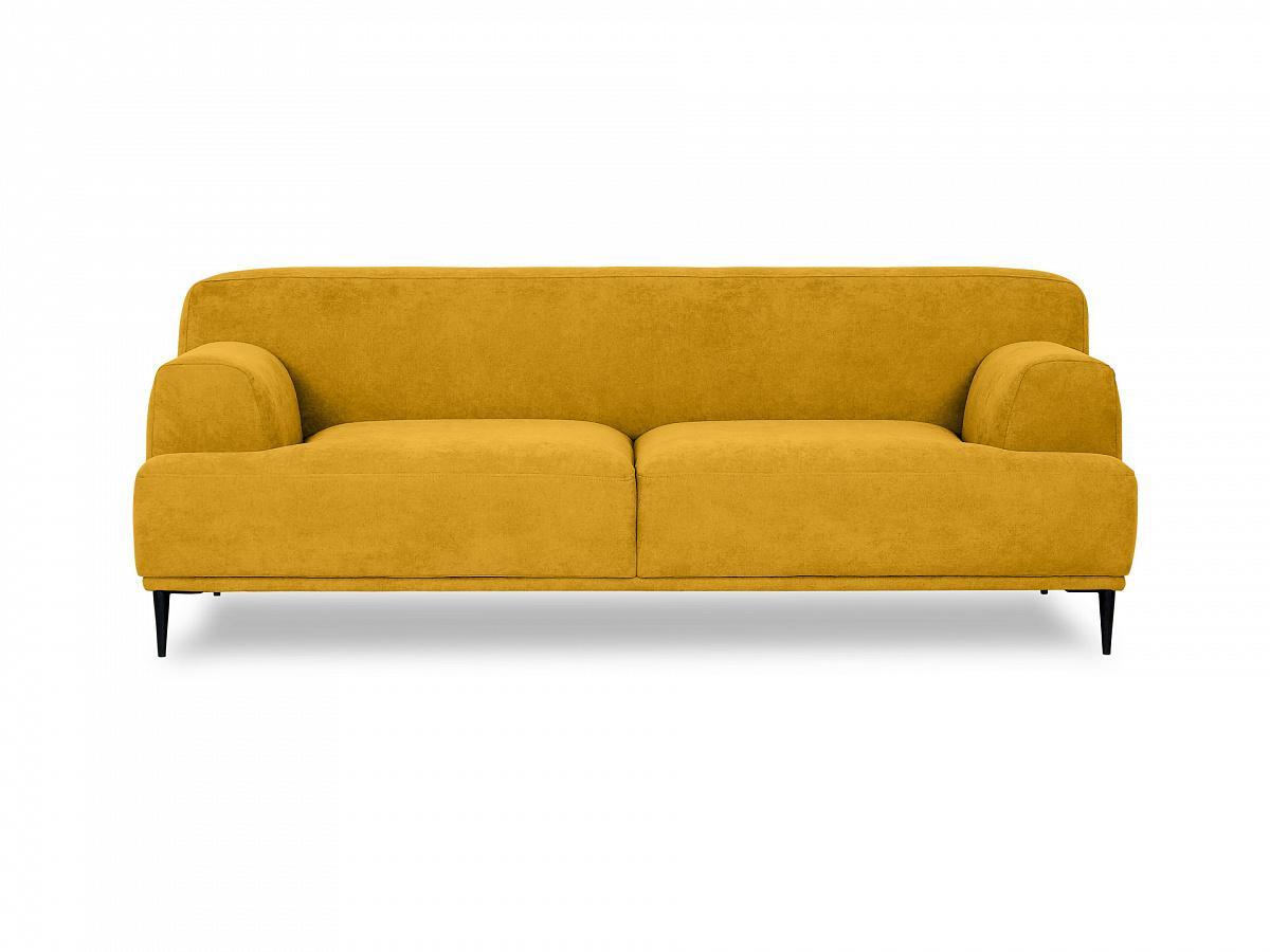 Ogogo диван двухместный portofino желтый 115609/8