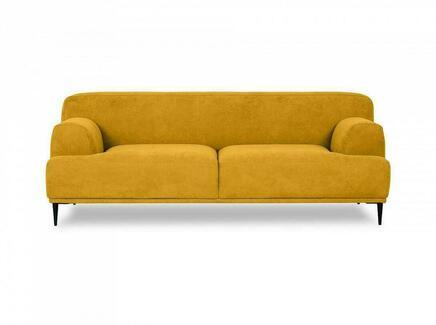 Диван двухместный portofino (ogogo) желтый 796x72x97 см.