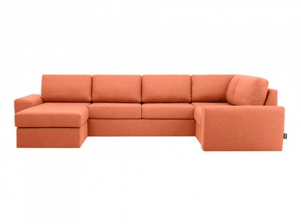Диван peterhof (ogogo) оранжевый 359x88x201 см.