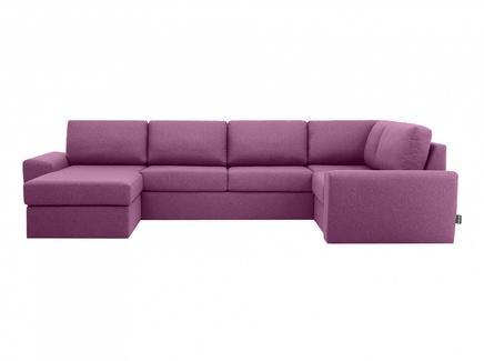 Диван peterhof (ogogo) фиолетовый 359x88x201 см.