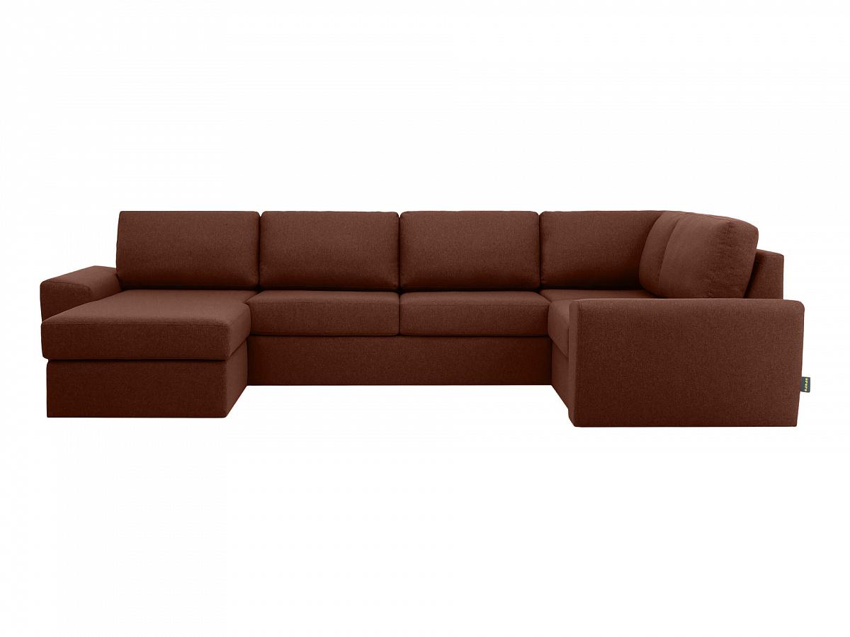 Ogogo диван peterhof коричневый 115635/6