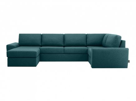 Диван peterhof (ogogo) зеленый 359x88x201 см.