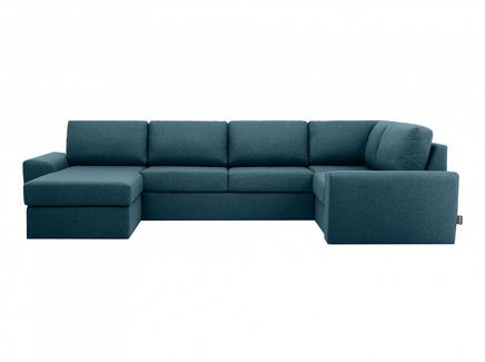 Диван peterhof (ogogo) голубой 359x88x201 см.
