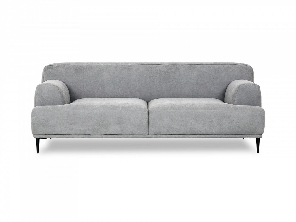 Ogogo диван двухместный portofino серый 115636/9