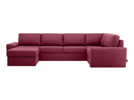 Диван peterhof (ogogo) красный 359x88x201 см.