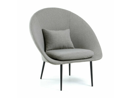 Кресло tradition (la forma) серый 84x86x57 см.