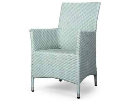 Кресло rattan (desondo) зеленый 57x91x60 см.