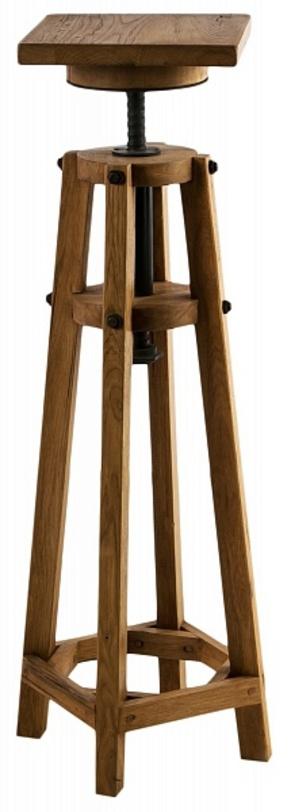 Консоль Pedestal BloisДругое<br><br><br>Material: Дуб<br>Length см: None<br>Width см: 35<br>Depth см: 35<br>Height см: 100