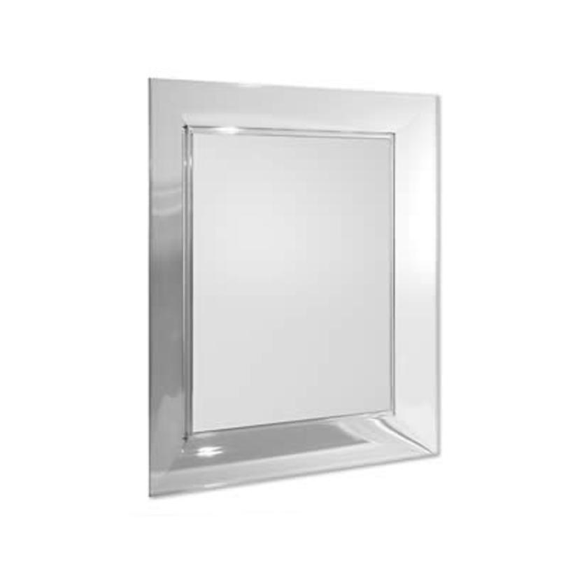 Зеркало Francois GhostНастенные зеркала<br>Отделка: пластик прозрачный<br><br>Material: Стекло<br>Width см: 65<br>Depth см: 6<br>Height см: 79