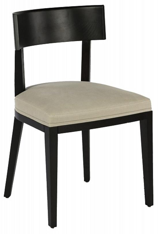 Стул BeatriceОбеденные стулья<br>Материал: дерево; лак<br>Обивка: хлопок<br><br>Material: Хлопок<br>Ширина см: 47<br>Высота см: 77<br>Глубина см: 49