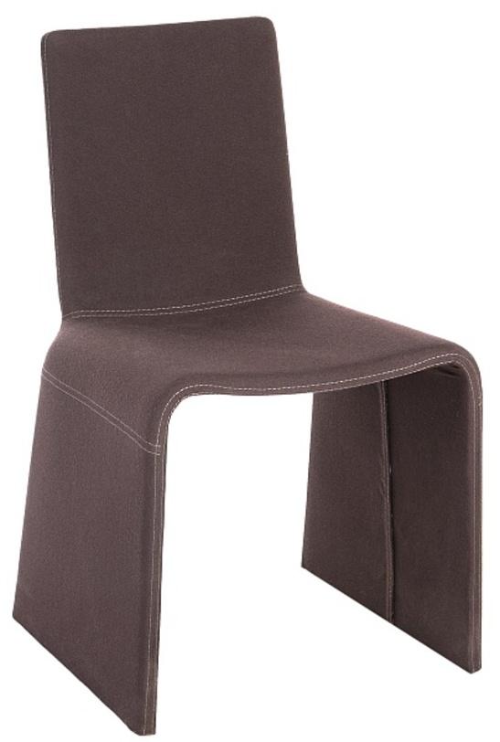 Стул EleonoraОбеденные стулья<br>Оригинальный обеденный стул из цельной детали замысловатой формы с необычной шерстяной обивкой. Итальянское производство всегда отличало высокое качество и новаторство в дизайне.<br><br>Material: Шерсть<br>Ширина см: 50<br>Высота см: 83<br>Глубина см: 51
