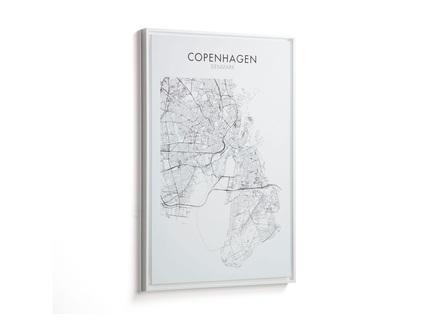Картина uptown копенгаген (la forma) мультиколор