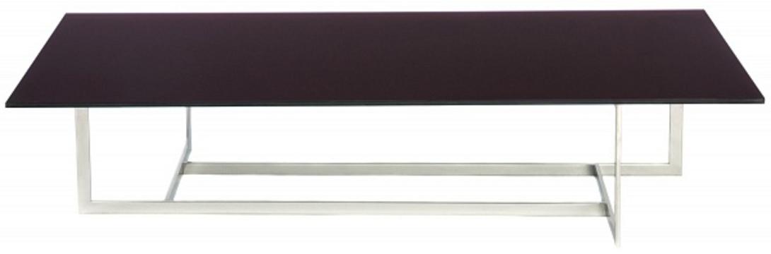 Журнальный столик WoodstockЖурнальные столики<br>Журнальный столик квадратной формы от итальянского производителя Porada Arredi S.r.l. для просторных интерьеров в стиле лофт, модернизм, хай-тек. Каркас столика изготовлен из нержавеющей стали с хромированной поверхностью, топ - закаленное стекло с покрытием теплого оттенка. Оригинальная конструкция каркаса - обязательная изюминка от итальянцев!<br><br>Material: Стекло<br>Length см: None<br>Width см: 160<br>Depth см: 80<br>Height см: 34