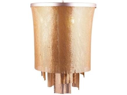 Люстра cascade (desondo) золотой 65 см.