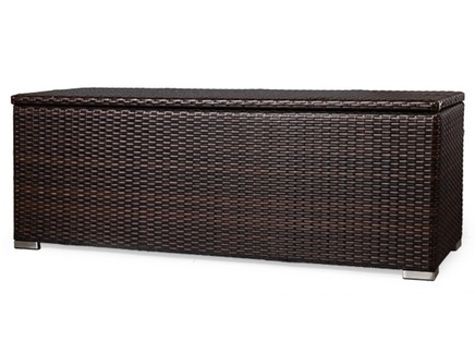 Сундук wicker (desondo) коричневый 153x55x57 см.