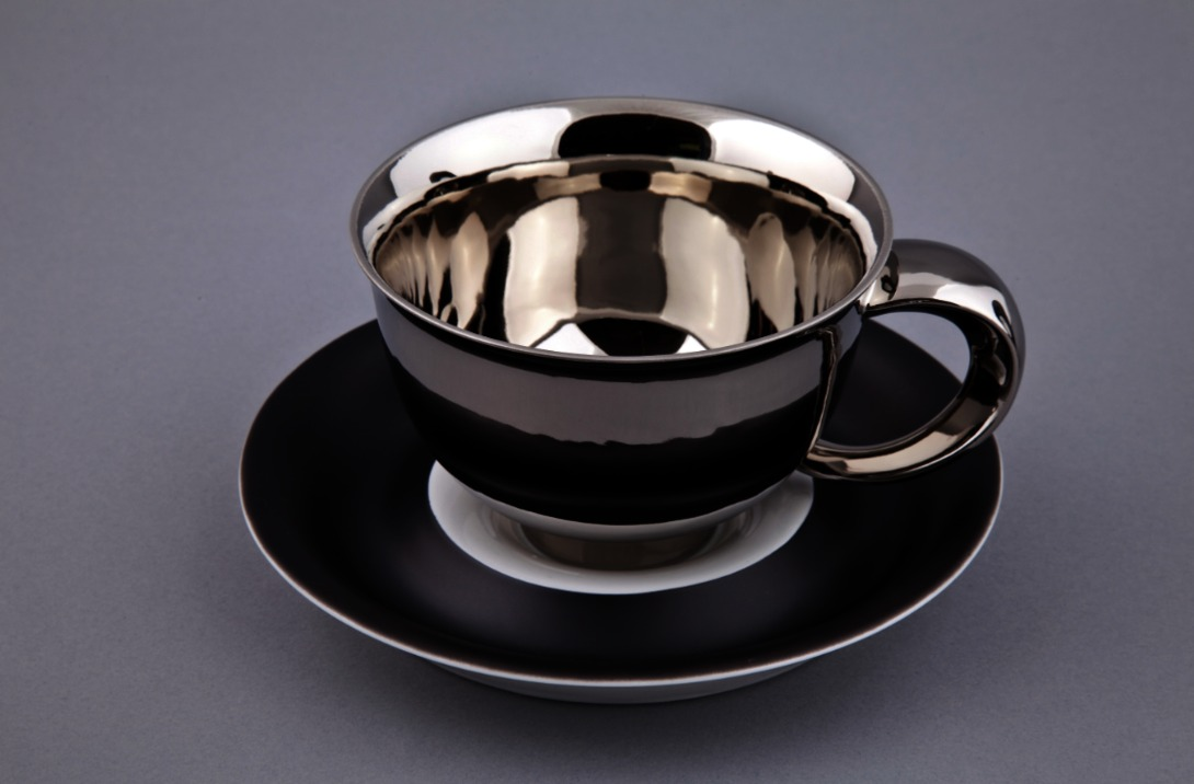Чайная пара KeltЧайные пары, чашки и кружки<br>Упаковка: черная картонная коробка с логотипом.<br><br>Material: Фарфор<br>Высота см: 10