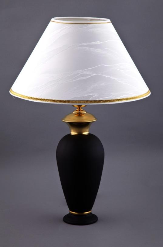 ЛампаДекоративные лампы<br>Лампа упакована в черную кожаную коробку с бархатом внутри.<br><br>Material: Фарфор<br>Высота см: 30