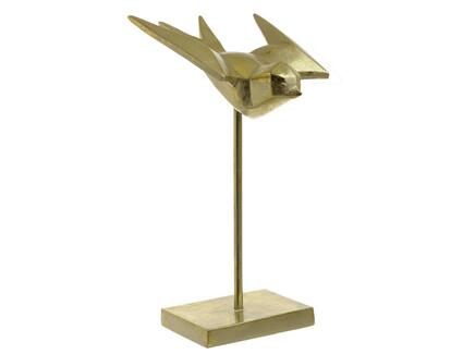 Статуэтка dayguard (to4rooms) золотой 16x28 см.