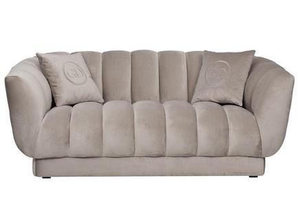 Диван двухместный fabio (garda decor) серый 182x72x95 см.