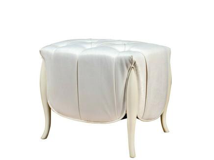 Пуфик rimini (fratelli barri) белый 62x53x47 см.