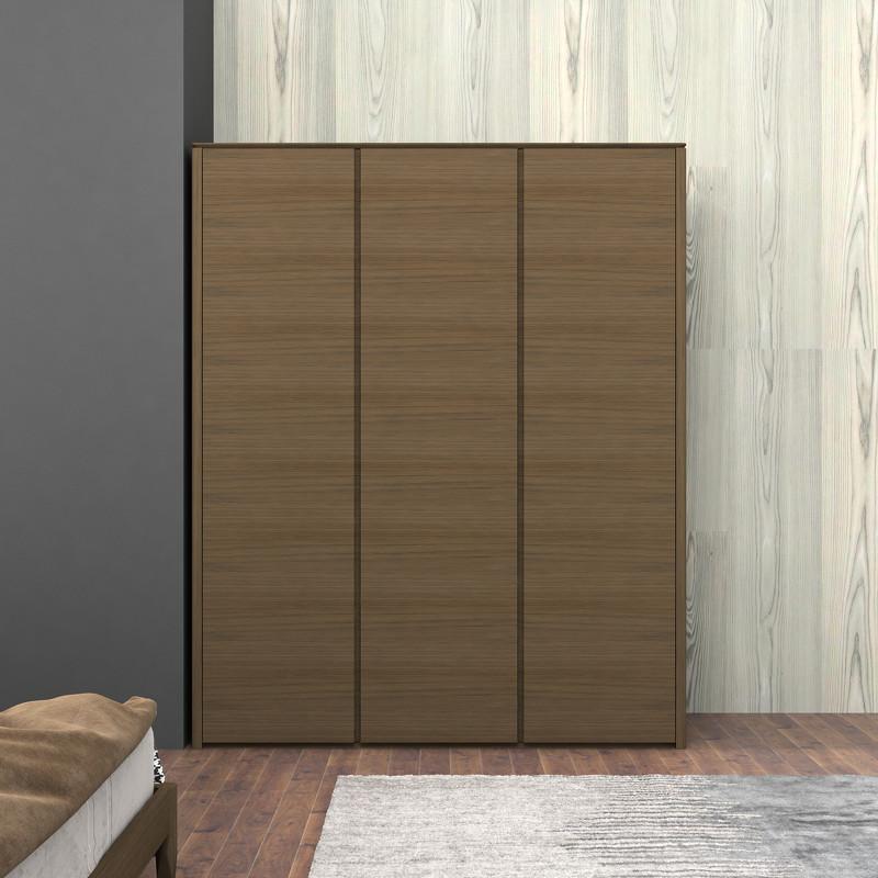 Гардероб paterna (mod interiors) коричневый 180x220x59 см.