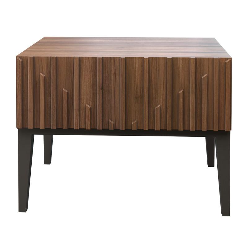 Прикроватная тумбочка menorca (mod interiors) коричневый 60x45x45 см.