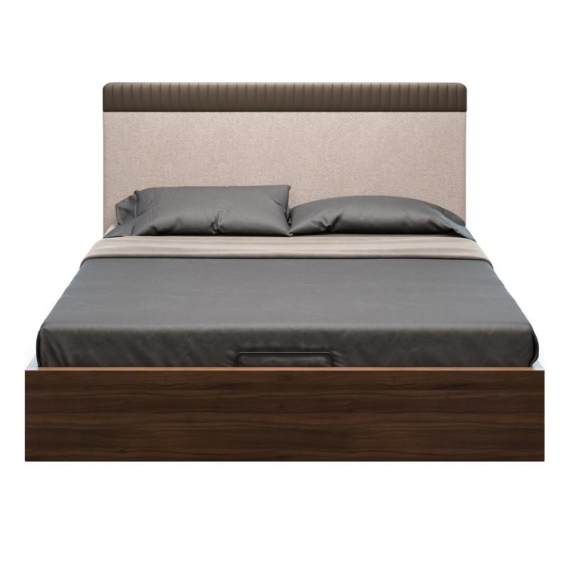 Кровать с подъемным механизмом menorca (mod interiors) коричневый 172x105x213 см.