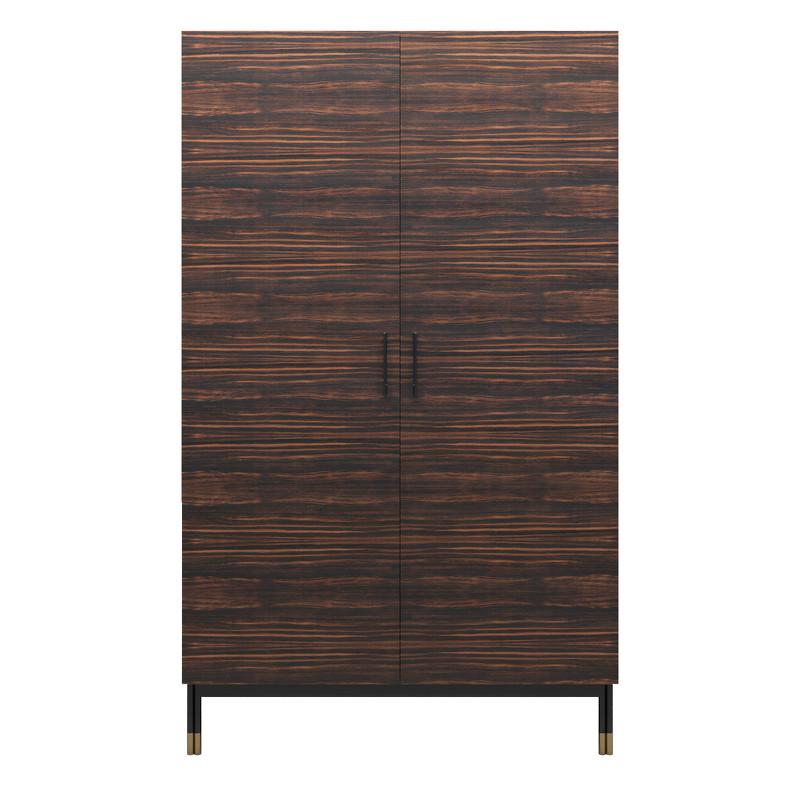 Гардероб benissa (mod interiors) коричневый 120x200x61 см.