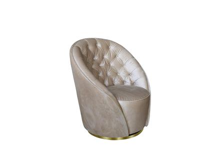 Кресло (garda decor) бежевый 82x92x84 см.