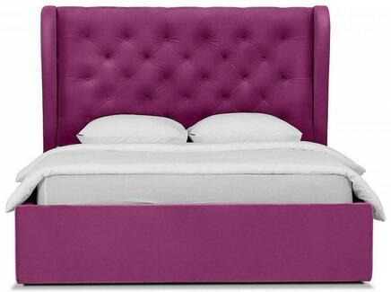 Кровать jazz (ogogo) фиолетовый 177x146x224 см.