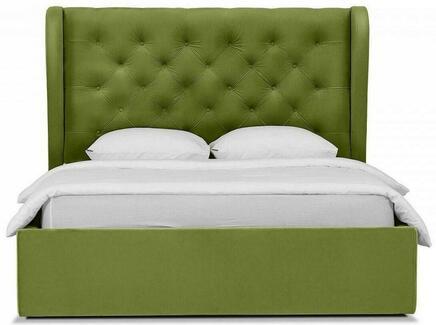 Кровать jazz (ogogo) зеленый 177x146x224 см.