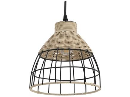 Лампа потолочная pakë (to4rooms) черный 21 см.