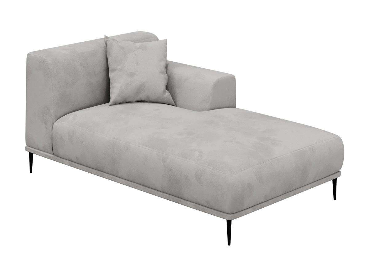 Оттоманка portofino (ogogo) серый 98x72x168 см.