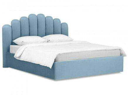 Кровать queen sharlotta (ogogo) голубой 180x122x217 см.