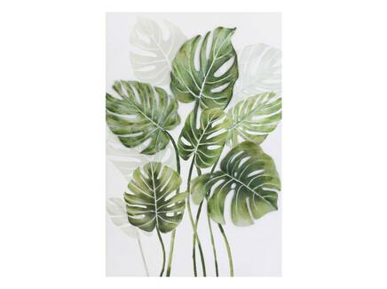 Картина на подрамнике delicacy (to4rooms) зеленый 80x120x3 см.