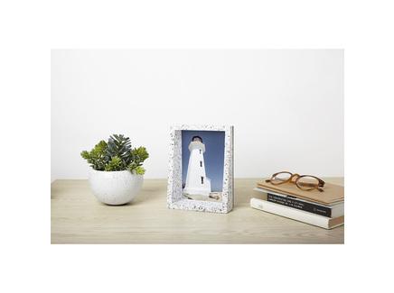 Рамка для фотографий еdge 13х18 terrazzo (umbra) серый 15.0x21.0x6.0 см.
