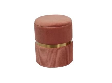Пуфик roma (my interno) розовый 44 см.