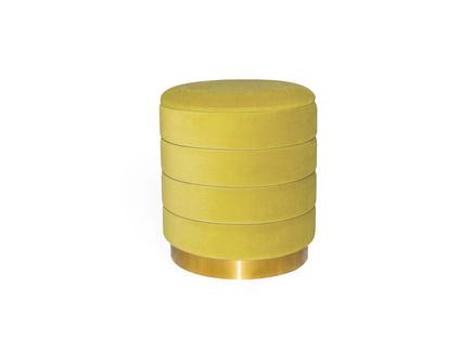 Пуфик dallas (my interno) желтый 44 см.