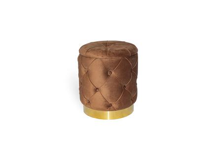 Пуфик paris (my interno) коричневый 40 см.